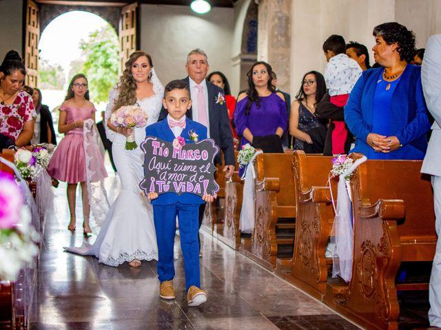 La boda de Marco y Yuliana en Xochimilco, Ciudad de México 15