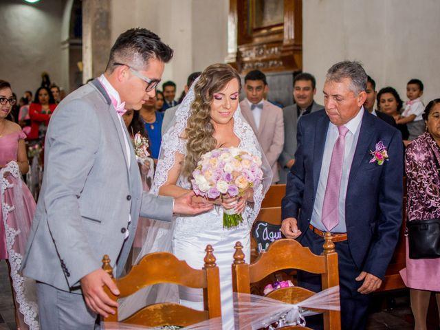 La boda de Marco y Yuliana en Xochimilco, Ciudad de México 16
