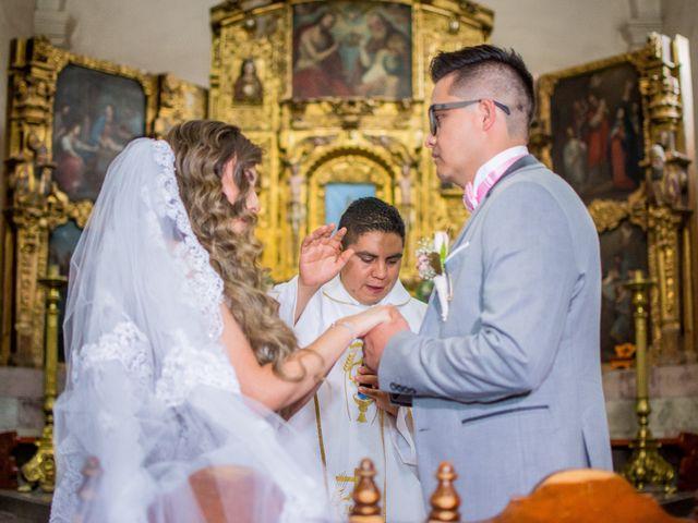 La boda de Marco y Yuliana en Xochimilco, Ciudad de México 18