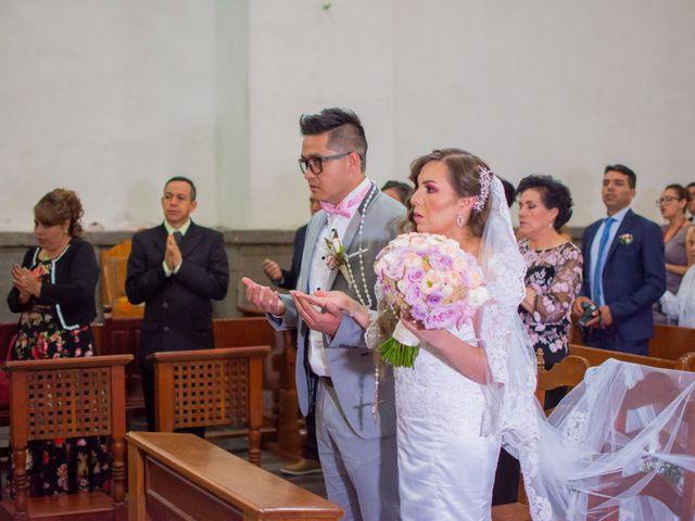 La boda de Marco y Yuliana en Xochimilco, Ciudad de México 25