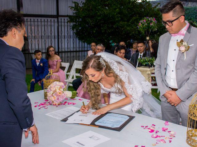 La boda de Marco y Yuliana en Xochimilco, Ciudad de México 33