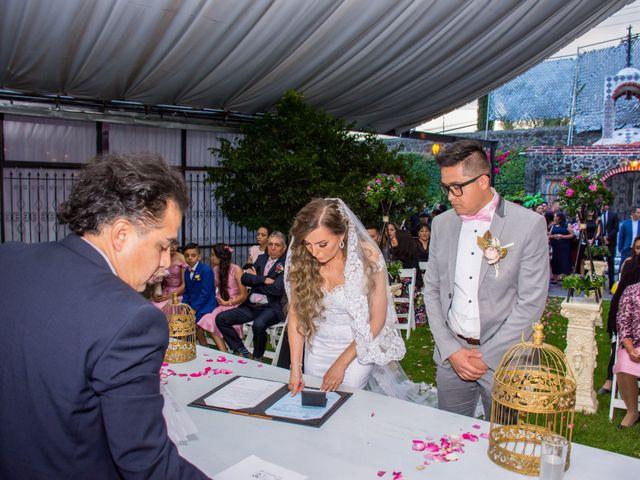 La boda de Marco y Yuliana en Xochimilco, Ciudad de México 34