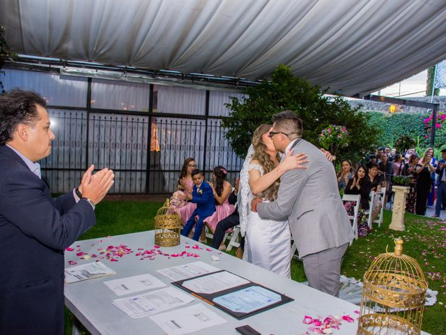 La boda de Marco y Yuliana en Xochimilco, Ciudad de México 36