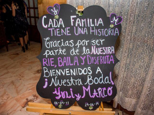 La boda de Marco y Yuliana en Xochimilco, Ciudad de México 38