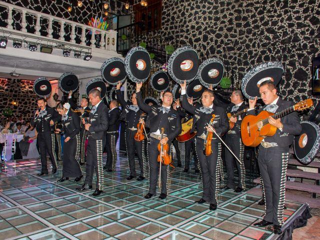 La boda de Marco y Yuliana en Xochimilco, Ciudad de México 45