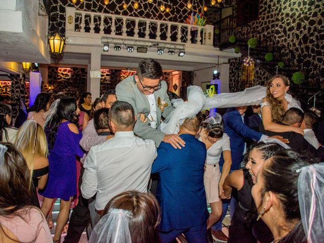 La boda de Marco y Yuliana en Xochimilco, Ciudad de México 49
