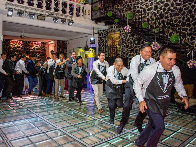 La boda de Marco y Yuliana en Xochimilco, Ciudad de México 50
