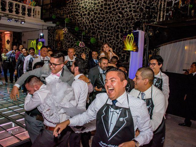 La boda de Marco y Yuliana en Xochimilco, Ciudad de México 51