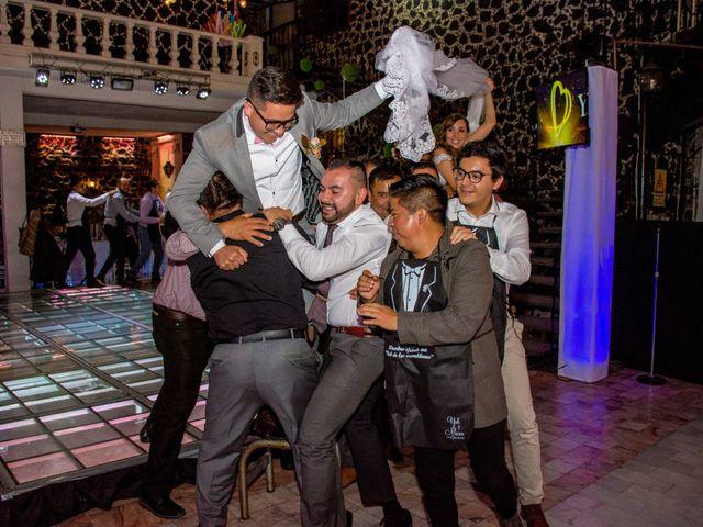 La boda de Marco y Yuliana en Xochimilco, Ciudad de México 52