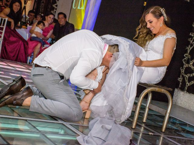 La boda de Marco y Yuliana en Xochimilco, Ciudad de México 56