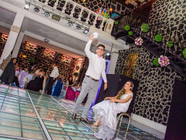 La boda de Marco y Yuliana en Xochimilco, Ciudad de México 57