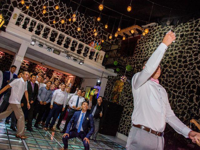 La boda de Marco y Yuliana en Xochimilco, Ciudad de México 58