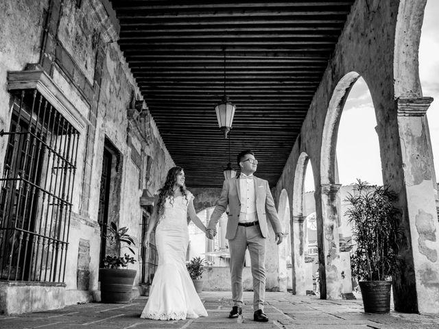 La boda de Marco y Yuliana en Xochimilco, Ciudad de México 2