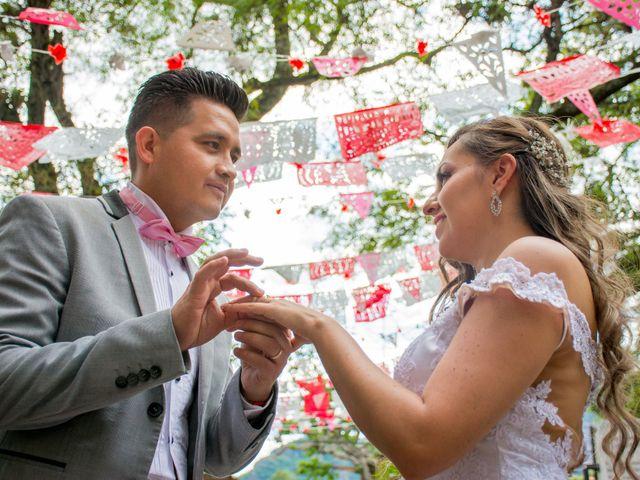 La boda de Marco y Yuliana en Xochimilco, Ciudad de México 75