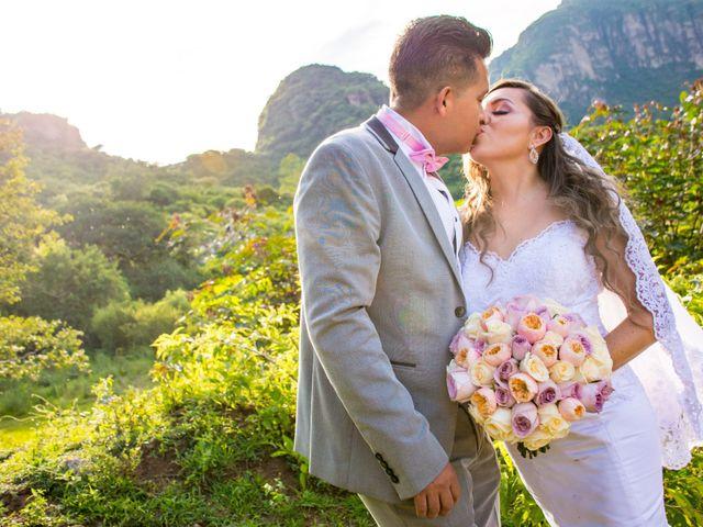 La boda de Marco y Yuliana en Xochimilco, Ciudad de México 81
