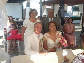 La boda de Faby  y Andy