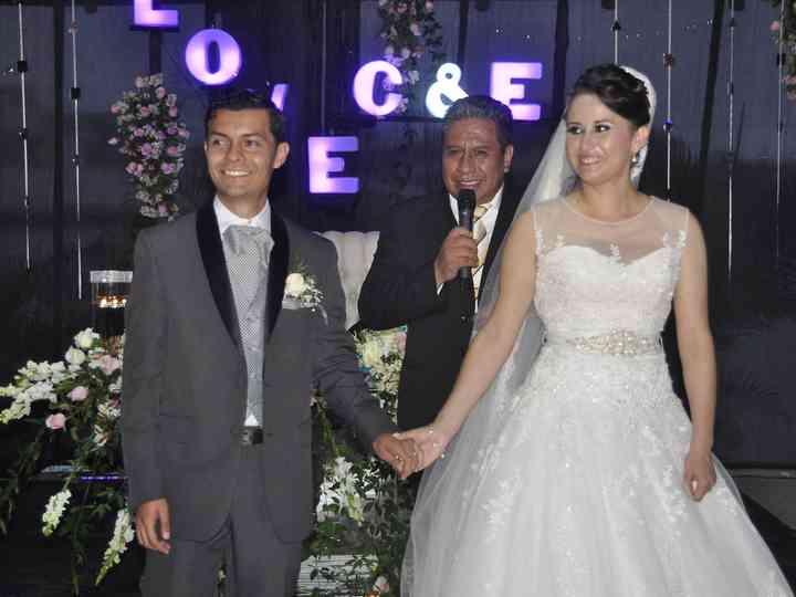 La boda de Claudia  y Eliezer
