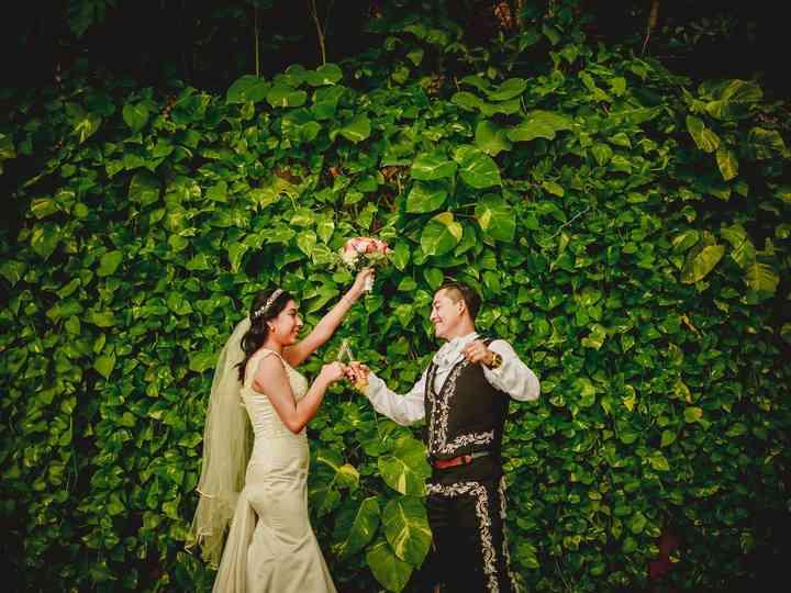 La boda de Aurora y Cesar