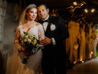 La boda de Denisse y Víctor