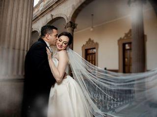 La boda de Horacio y Rosy