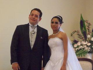 La boda de Lizeth y Abidan
