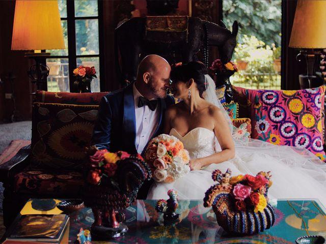 La boda de Stacey y Darril