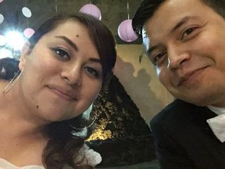 La boda de Stephanie  y Raúl