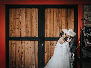La boda de Jimena  y Refugio