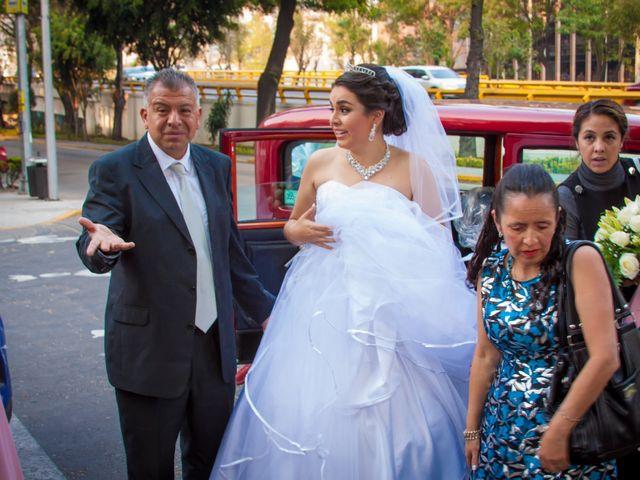 La boda de Luis y Abril en Miguel Hidalgo, Ciudad de México 21