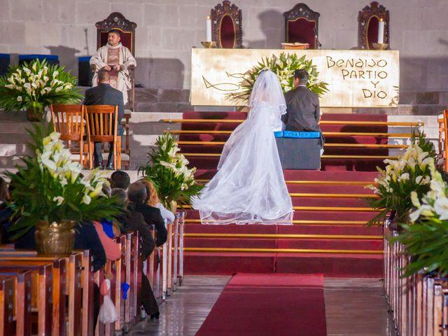 La boda de Luis y Abril en Miguel Hidalgo, Ciudad de México 1