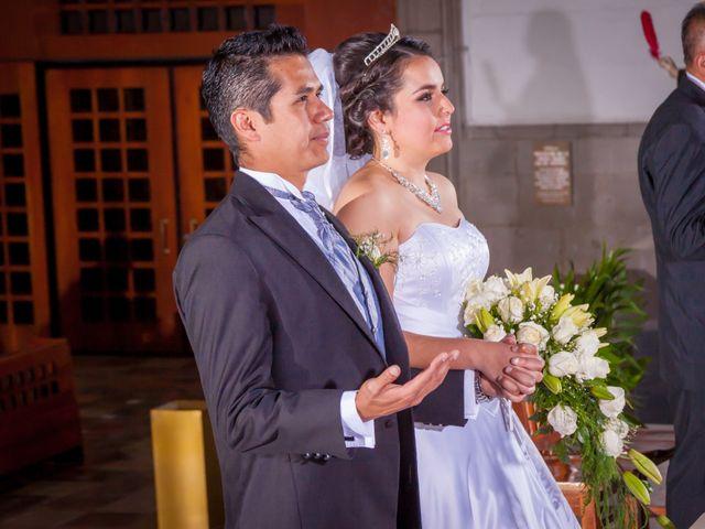 La boda de Luis y Abril en Miguel Hidalgo, Ciudad de México 43
