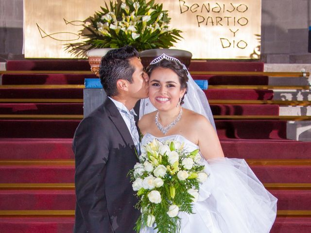 La boda de Luis y Abril en Miguel Hidalgo, Ciudad de México 57
