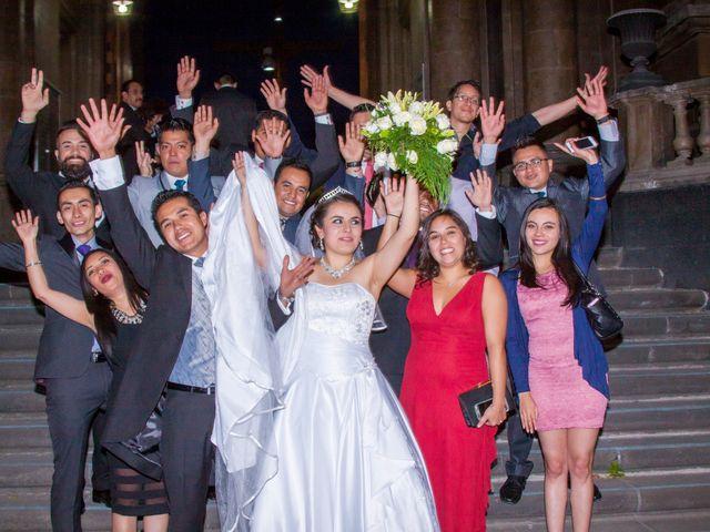 La boda de Luis y Abril en Miguel Hidalgo, Ciudad de México 63