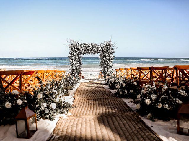 La boda de Juliano y Viviane en Tulum, Quintana Roo 67