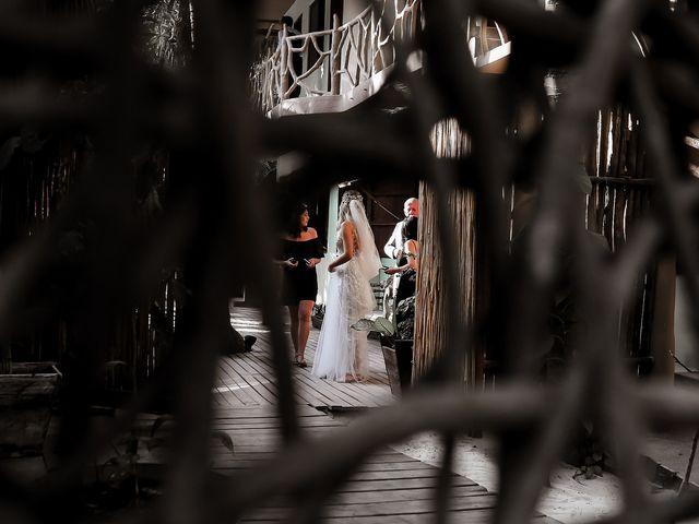 La boda de Juliano y Viviane en Tulum, Quintana Roo 87