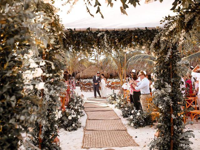 La boda de Juliano y Viviane en Tulum, Quintana Roo 92