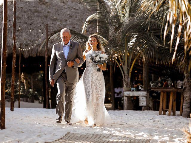 La boda de Juliano y Viviane en Tulum, Quintana Roo 98