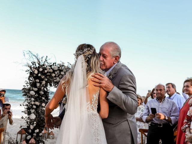 La boda de Juliano y Viviane en Tulum, Quintana Roo 106