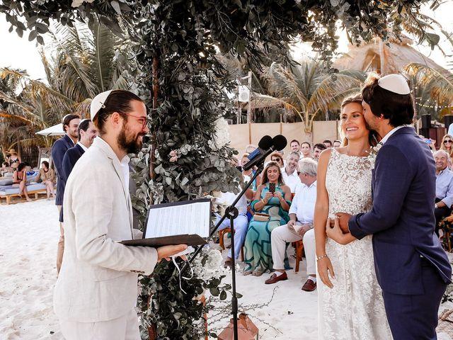 La boda de Juliano y Viviane en Tulum, Quintana Roo 129