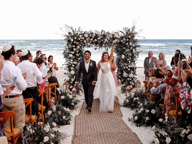 La boda de Juliano y Viviane en Tulum, Quintana Roo 143