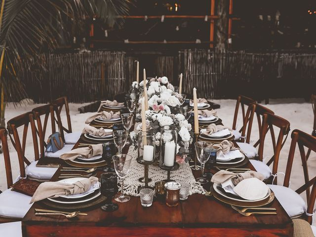La boda de Juliano y Viviane en Tulum, Quintana Roo 153