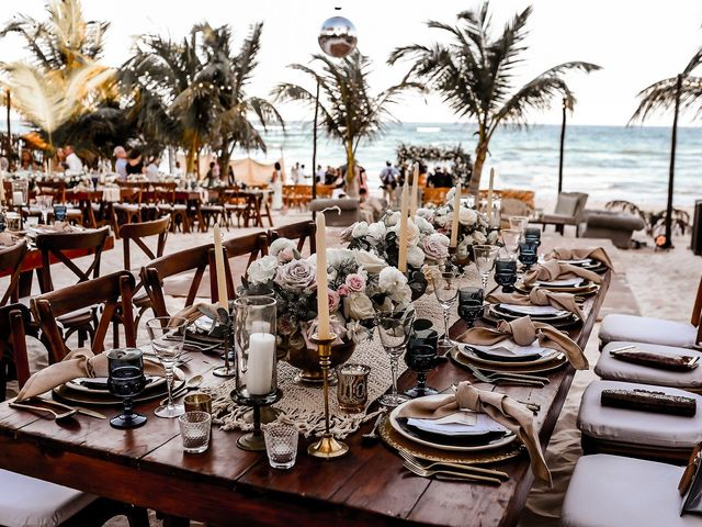 La boda de Juliano y Viviane en Tulum, Quintana Roo 156