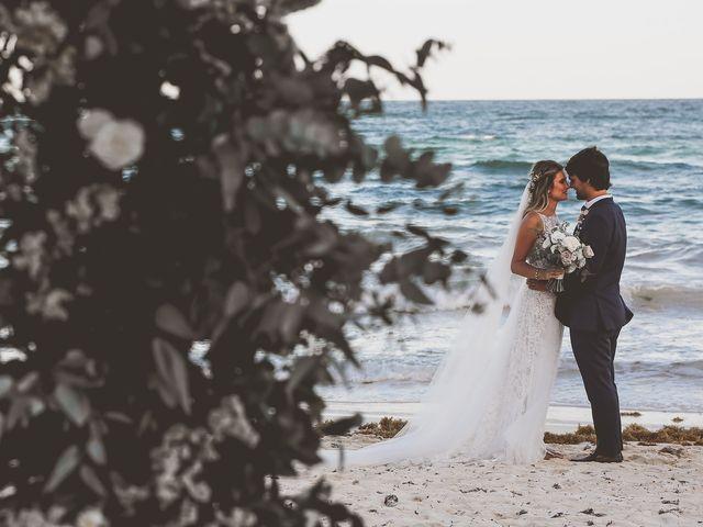 La boda de Juliano y Viviane en Tulum, Quintana Roo 162