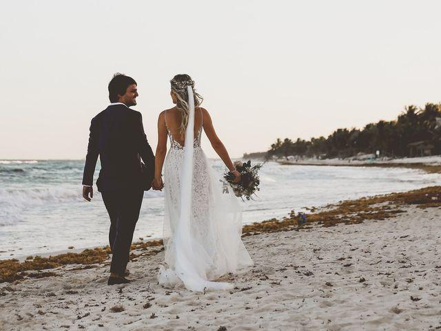 La boda de Juliano y Viviane en Tulum, Quintana Roo 164
