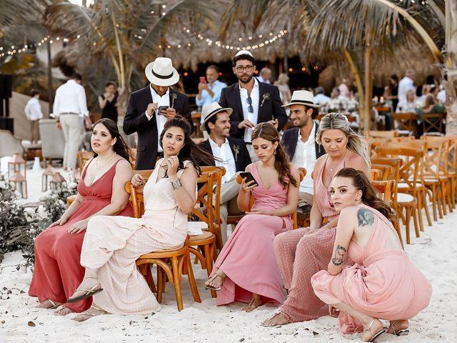 La boda de Juliano y Viviane en Tulum, Quintana Roo 167