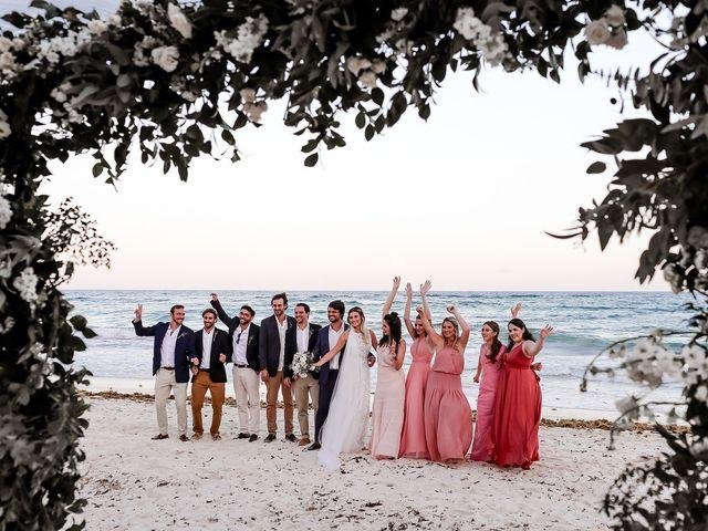 La boda de Juliano y Viviane en Tulum, Quintana Roo 180