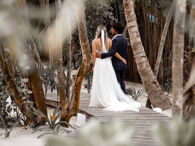 La boda de Juliano y Viviane en Tulum, Quintana Roo 184