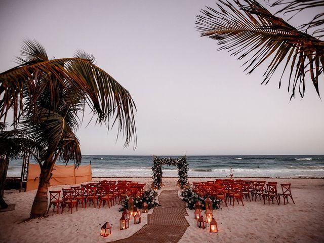 La boda de Juliano y Viviane en Tulum, Quintana Roo 195