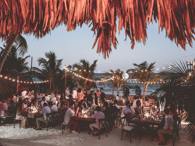 La boda de Juliano y Viviane en Tulum, Quintana Roo 197