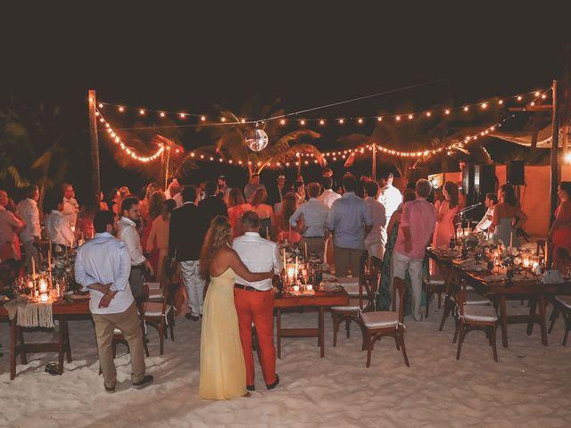 La boda de Juliano y Viviane en Tulum, Quintana Roo 207